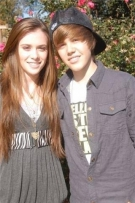 Justin Bieber and Caitlin Beadles: