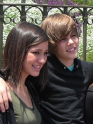 Justin Bieber and Kristen Rodeheaver: