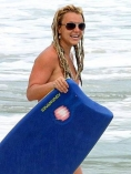 Britney Spears naked on the beach