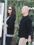 Bruce Willis and pregnant Ema Hemming step out to dinner