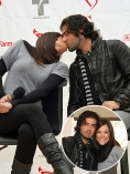 An Innocent Kiss Between Jencarlos Canela and Gaby Espino