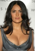Salma Hayek likes to change diapers