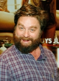 Zach Galifianakis will never become a sex symbol