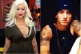 Christina Aguilera and Eminem will appear on Entourage at the end of the season