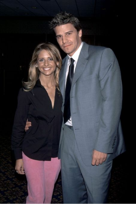 david boreanaz and sarah michelle gellar pic