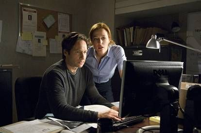 david duchovny and gillian anderson picture