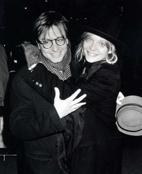 Title: fisher stevens and michelle pfeiffer picture2. Description: