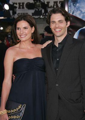 James Marsden And Lisa Linde Photo