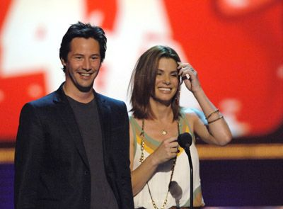 keanu reeves and sandra bullock photo