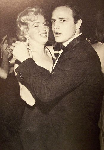 Marilyn Monroe And Marlon Brando Pic1