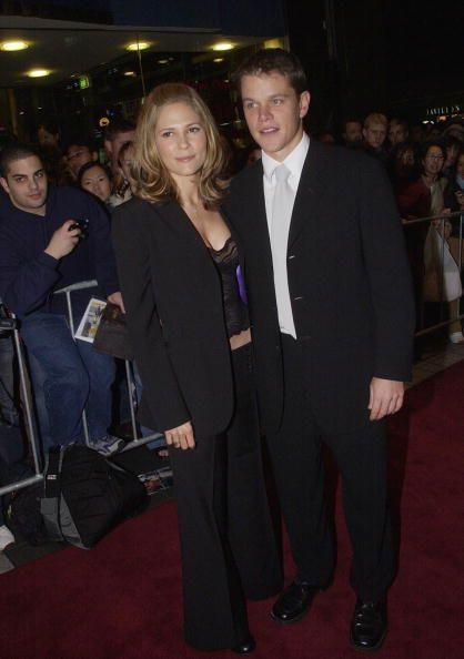 Matt Damon And Odessa ...