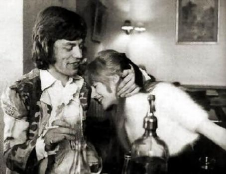 mick jagger and marianne faithfull picture1