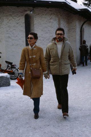 Robert Wolders And Audrey Hepburn Image