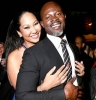 djimon hounsou and kimora lee simmons photo