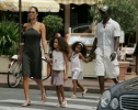 djimon hounsou and kimora lee simmons pic