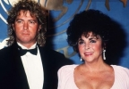 elizabeth taylor and larry fortensky image2