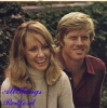 lola van wagenen and robert redford photo