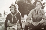 ronald reagan and lana turner image