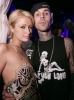 travis barker and paris hilton picture