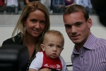 wesley sneijder and ramona streekstra pic1