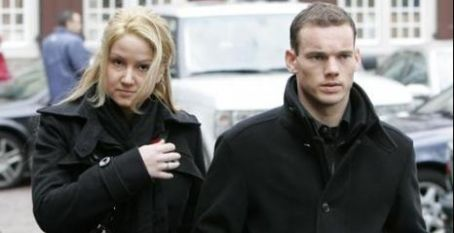 wesley sneijder and ramona streekstra photo1
