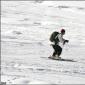 Adventure sports during snowfall season in India