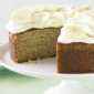 Banana Cake with frosting cream cheese