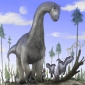 Could a giant sauropod walk on its front legs?