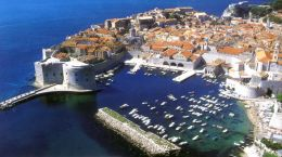 Dubrovnik - jewel of the Adriatic coast in Croatia
