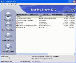 First Impressions on East-Tec Eraser 2010