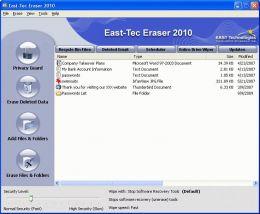 First Impressions on East-Tec Eraser 2010