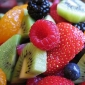 Fruit salad...Bowl filled with nutrition