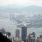 Hong Kong, a large and busy city