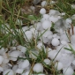 How are hailstones formed?