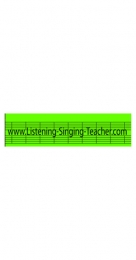 Improve your singing skills using a simple yet efficient method. Listening Singing Teacher: a great singing learning tool for beginners and professionals alike