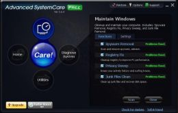 One of the best free system care applications