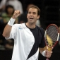Sampras and Agassi Setback