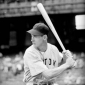 The late Ted Williams