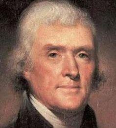 Thomas Jefferson - an outstanding political figure