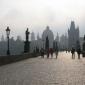 Walking Through Prague
