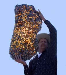 What are meteorites made of?