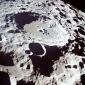 What does the surface of the Moon look like?