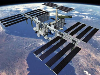 What is a space station?