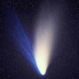What is the tail of a comet?