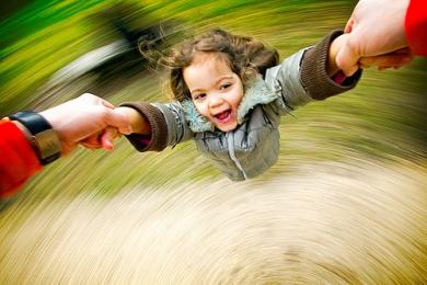 What makes me dizzy when I twirl round?
