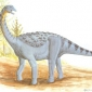 Which giant sauropod dinosaur was well able to defend itself?