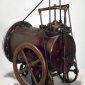 Who invented the first steam engine?