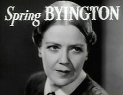 Spring Byington
