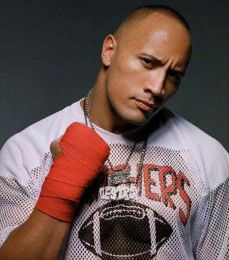 The Rock aka Dwayne Johnson